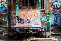 Street art / Sneakers