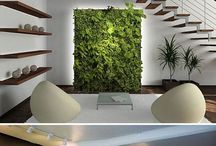 Plants in Design / Incorporating plans within your home decor | Vertical Gardens | Indoor Platers | Wall Planters | Hanging Planters | Wall Garden | Air Planters | Air Plants