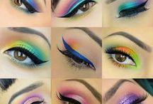 Make up / plum, violet, nude, pin up, grunge, smoky, bugundy...