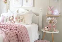 H O M E | girl bedroom