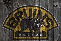 Boston Bruins. / On ice