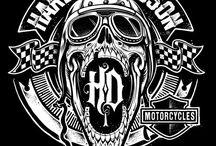 Harley Davidson / Beard up, Bike up