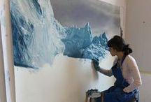 Feeling Blue / Blue art in the form of paintings, installation, prints and many more.
