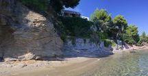 Beachfront Summer Greek Houses