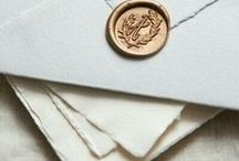 WEDDING INVITATIONS / A collection of beautiful invitations for your inspiration.
