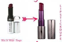 Lipstick Dupes / Lipstick Dupes, our favorite kind of dupe!