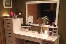Makeup Storeage & Vainity