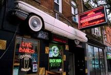 Vintage Directory - Bars and Dancing / All the cool places to get your vintage on in Toronto. / by Toronto Vintage Society