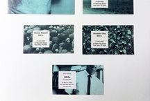 Moodboard- Business Cards / Serie de tarjetas creativas.