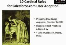 10 Cardinal Rules for Salesforce.com User Adoption