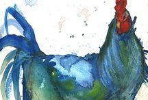 Animals Watercolor