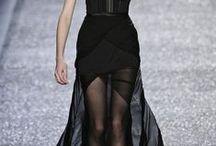 A L L B L A C K. / All black style.