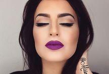 Makeup and Brows. / m/u inspiration.