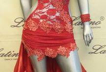 latin dresses / abiti femminili danze latino americane.