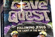 VBS 2016 Cave Quest / Vacation Bible School - Cave Quest Ideas