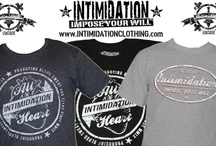 Intimidation Tees / Intimidation Clothing's core product - t-shirts inspired by fashion and MMA.