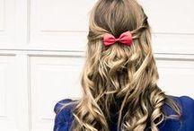 hairstyle / by Hannah Bailey