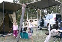 Camping  / Camping is not my favorite activity...give me a hotel room with air conditioning and a shower any day!  But once a year we have a family reunion campout...soooo..some ideas to make it a little more enjoyable. / by Debi Hisel