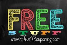 Freebies (for you) / GET FREE STUFF! We post only the best of the best FREEbies we have found for you to score your own FREE items. Because who doesn't love FREE?! **USUALLY THESE DEALS ARE TIME SENSITIVE** / by TrueCouponing.com