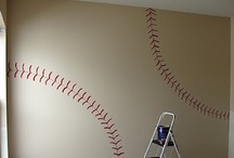 B Mans Vintage Baseball Room / by Amanda Turnbull