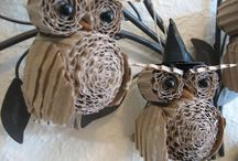 Crafty: Paper / Paper crafts: quilling, origami, mixed media, etc. / by Taronna McKee