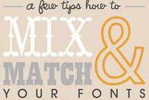Fonts & Lettering