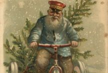 Vintage Christmas Greetings / A glimpse of beautiful greetings from yesteryear....