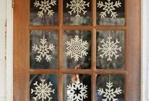 * Let * It * Snow * / Crafted Snowflakes