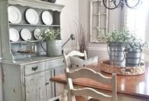 Farmhouse Decor, Shabby Chic, French Cottage