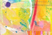 *glue*paint*stitch*spray*cut* / by Stacey Sattler