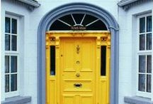 Front Doors / Opportunity is knocking! If you only have one opportunity to make the best impression, check out these inspiring and creative front door ideas! / by Homes.com