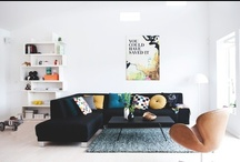 In - Home - Living room / by Kiki Maouw