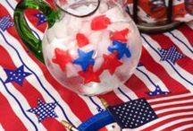 Red White & BBQ / Born in the USA! It's America's birthday and we're proud to present some Yankee Doodle 4th of July decoration ideas and delicious all-American BBQ recipes! / by Homes.com