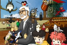 Studio Ghibli Magic / A HUGE fan of Hayao Miyazaki and the work that comes out of Studio Ghibli. / by Cari Ennis