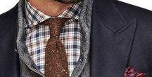 gentleman style / men, style, fashion, men's fashion, suits, ties, shoes