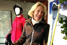 """Stefan Kaelin """"Celebrity"""" Customers / We have the best (and most fashionable) customers so we thought we'd show them off.  #ski #fashion #aspen"""