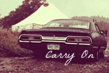 Carry on My Wayward Son / Ok, I told myself I was only obsessed with Doctor Who, but the Winchester brothers, Castiel and Supernatural have gotten under my skin.  / by Cari Ennis