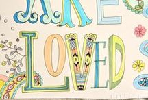 Lettering / by Stacey Sattler