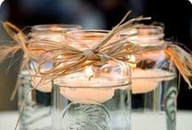 Party Decor - Dinner Table Center Peace / by Annamaria Cysneiros