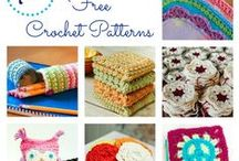 Crochet - Free Pattern websites / Lots of patterns and great ideas