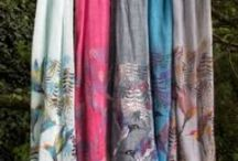 Scarves for Every Occassion / A selection of our favourite ladies scarves, together with lots of ideas on ways to wear your scarf.