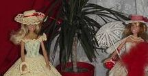 Kedvenc Barbie babáink Babavárosból / Saját tervezésű, saját készítésű kollekciókba öltöztetett Barbie babák, a Babaváros Babagyűjteményünkből http://babavaros.gportal.hu/