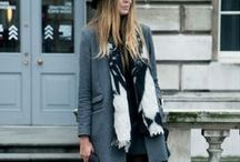 Winter / Fall/Winter trends, those giant coats we all love, but stylish at the same time.