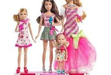 Barbie & Skipper & Stacie & Chelsea