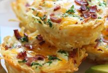 Potato cheese and bacon casserole / Comfort food