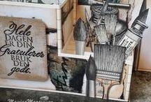Mine Kort / My Cards, Handmade / Startet med kortlaging i slutten av 2011 og her er et lite knippe av mine kreasjoner.