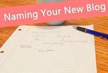 Blogging Inspiration / Tips, tools and strategies I'm using to market my new blog.