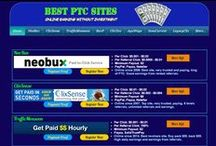Make Money Online Unlimited / PTC sites is very good way to earn money online without investment. Ads, offers, tasks, surveys, traffic exchange, promotions and more...