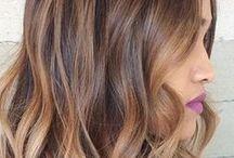 * Hair color
