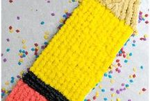 Back to School / Collection of Back to school party and craft ideas.
